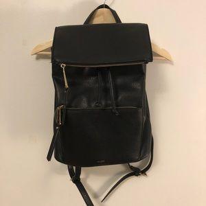 ALDO black faux leather backpack🖤